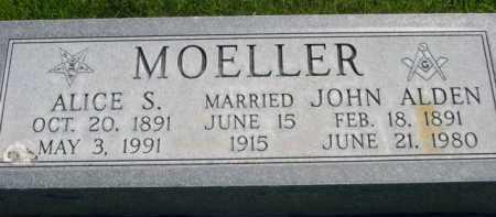MOELLER, ALICE S. - Dawes County, Nebraska | ALICE S. MOELLER - Nebraska Gravestone Photos