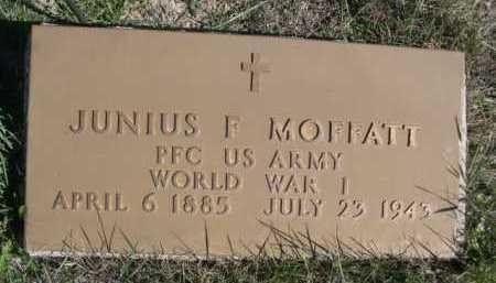 MOFFATT, JUNIUS F. - Dawes County, Nebraska | JUNIUS F. MOFFATT - Nebraska Gravestone Photos