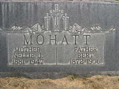 MOHATT, BERT - Dawes County, Nebraska | BERT MOHATT - Nebraska Gravestone Photos