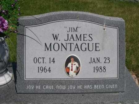 """MONTAGUE, W. JAMES """"JIM"""" - Dawes County, Nebraska   W. JAMES """"JIM"""" MONTAGUE - Nebraska Gravestone Photos"""