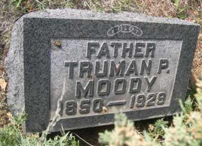 MOODY, TRUMAN P. - Dawes County, Nebraska | TRUMAN P. MOODY - Nebraska Gravestone Photos