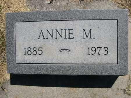 MOODY, ANNIE M. - Dawes County, Nebraska | ANNIE M. MOODY - Nebraska Gravestone Photos