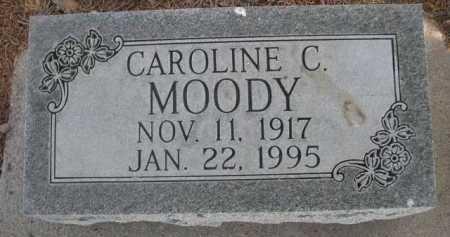 MOODY, CAROLINE C. - Dawes County, Nebraska | CAROLINE C. MOODY - Nebraska Gravestone Photos