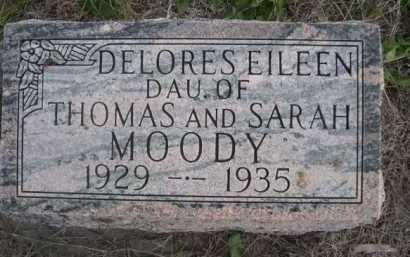 MOODY, DELORES EILEEN - Dawes County, Nebraska | DELORES EILEEN MOODY - Nebraska Gravestone Photos