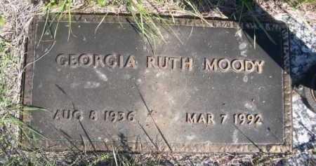 MOODY, GEORGIA RUTH - Dawes County, Nebraska   GEORGIA RUTH MOODY - Nebraska Gravestone Photos