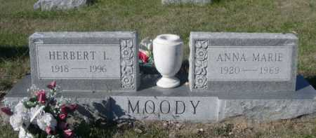 MOODY, HERBERT L. - Dawes County, Nebraska   HERBERT L. MOODY - Nebraska Gravestone Photos