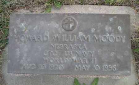 MOODY, HOWARD WILLIAM - Dawes County, Nebraska | HOWARD WILLIAM MOODY - Nebraska Gravestone Photos
