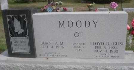 RACE MOODY, JUANITA M. - Dawes County, Nebraska | JUANITA M. RACE MOODY - Nebraska Gravestone Photos
