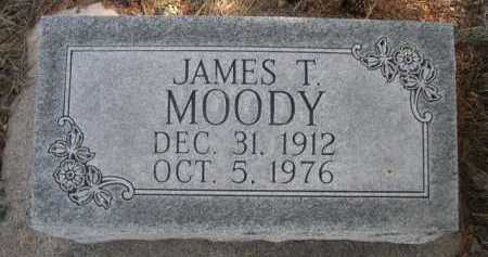 MOODY, JAMES T. - Dawes County, Nebraska | JAMES T. MOODY - Nebraska Gravestone Photos