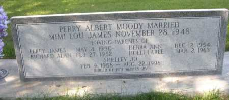 MOODY, PERRY ALBERT - Dawes County, Nebraska   PERRY ALBERT MOODY - Nebraska Gravestone Photos