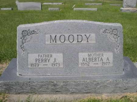 MOODY, ALBERTA A. - Dawes County, Nebraska | ALBERTA A. MOODY - Nebraska Gravestone Photos