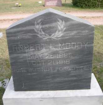 MOODY, ROBERT L. - Dawes County, Nebraska | ROBERT L. MOODY - Nebraska Gravestone Photos