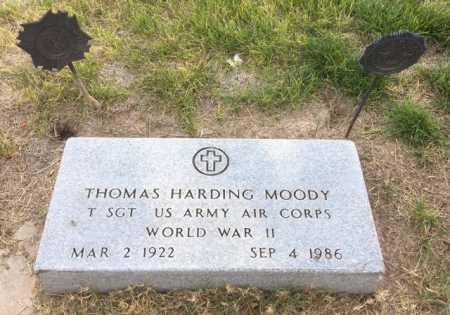 MOODY, THOMAS HARDING - Dawes County, Nebraska | THOMAS HARDING MOODY - Nebraska Gravestone Photos