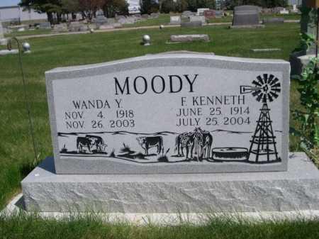 MOODY, F. KENNETH - Dawes County, Nebraska | F. KENNETH MOODY - Nebraska Gravestone Photos