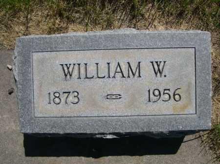 MOODY, WILLIAM W. - Dawes County, Nebraska | WILLIAM W. MOODY - Nebraska Gravestone Photos