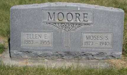 MOORE, ELLEN E. - Dawes County, Nebraska | ELLEN E. MOORE - Nebraska Gravestone Photos
