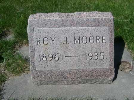 MOORE, RAY J. - Dawes County, Nebraska | RAY J. MOORE - Nebraska Gravestone Photos