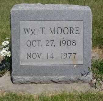 MOORE, WM. T. - Dawes County, Nebraska | WM. T. MOORE - Nebraska Gravestone Photos