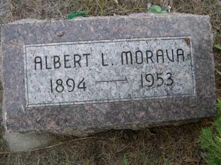 MORAVA, ALBERT L. - Dawes County, Nebraska | ALBERT L. MORAVA - Nebraska Gravestone Photos