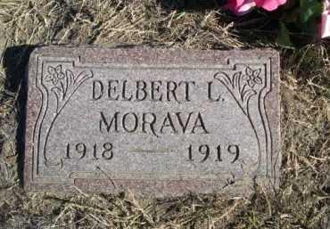 MORAVA, DELBERT L. - Dawes County, Nebraska | DELBERT L. MORAVA - Nebraska Gravestone Photos