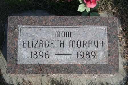 MORAVA, ELIZABETH - Dawes County, Nebraska | ELIZABETH MORAVA - Nebraska Gravestone Photos