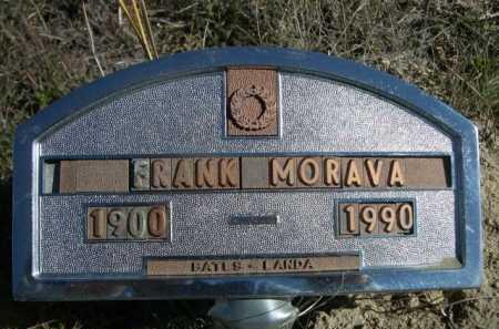 MORAVA, FRANK - Dawes County, Nebraska | FRANK MORAVA - Nebraska Gravestone Photos