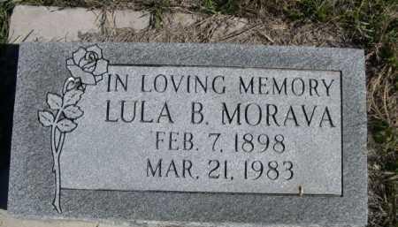 MORAVA, LULA B. - Dawes County, Nebraska   LULA B. MORAVA - Nebraska Gravestone Photos