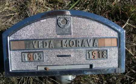 MORAVA, VEDA - Dawes County, Nebraska | VEDA MORAVA - Nebraska Gravestone Photos