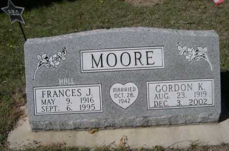MOORE, GORDON K. - Dawes County, Nebraska | GORDON K. MOORE - Nebraska Gravestone Photos
