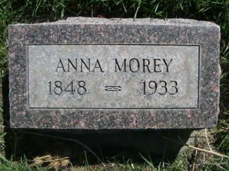 MOREY, ANNA - Dawes County, Nebraska | ANNA MOREY - Nebraska Gravestone Photos