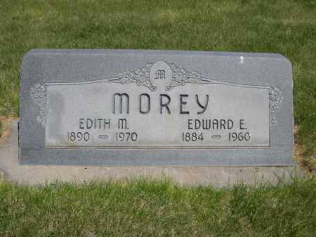 MOREY, EDWARD E. - Dawes County, Nebraska | EDWARD E. MOREY - Nebraska Gravestone Photos