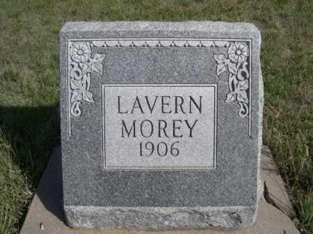 MOREY, LAVERN - Dawes County, Nebraska | LAVERN MOREY - Nebraska Gravestone Photos