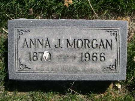 MORGAN, ANNA J. - Dawes County, Nebraska | ANNA J. MORGAN - Nebraska Gravestone Photos