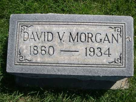 MORGAN, DAVID V. - Dawes County, Nebraska | DAVID V. MORGAN - Nebraska Gravestone Photos