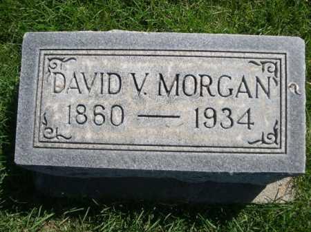 MORGAN, DAVID V. - Dawes County, Nebraska | DAVID V. MORGAN - Nebraska Gravestone Photos