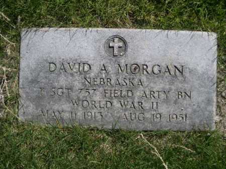 MORGAN, DAVID A. - Dawes County, Nebraska | DAVID A. MORGAN - Nebraska Gravestone Photos