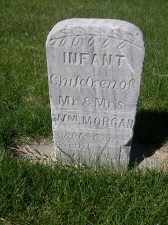 MORGAN, INFANT CHILDREN OF MR. & MRS WM. - Dawes County, Nebraska   INFANT CHILDREN OF MR. & MRS WM. MORGAN - Nebraska Gravestone Photos