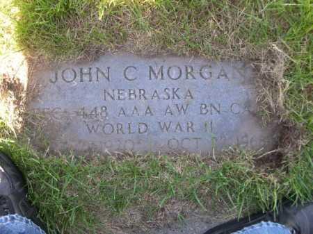 MORGAN, JOHN C. - Dawes County, Nebraska | JOHN C. MORGAN - Nebraska Gravestone Photos