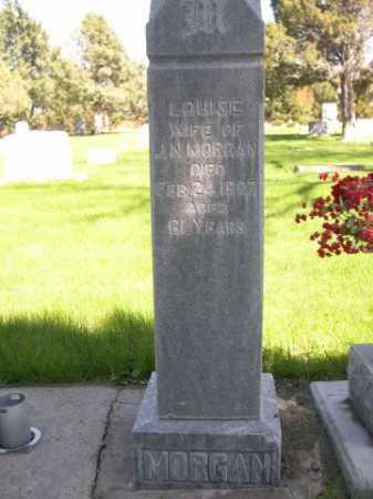 MORGAN, LOUISE - Dawes County, Nebraska | LOUISE MORGAN - Nebraska Gravestone Photos