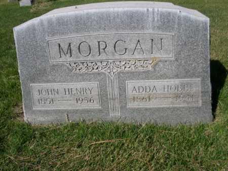 HOBBS MORGAN, ADDA HOBBS - Dawes County, Nebraska | ADDA HOBBS HOBBS MORGAN - Nebraska Gravestone Photos