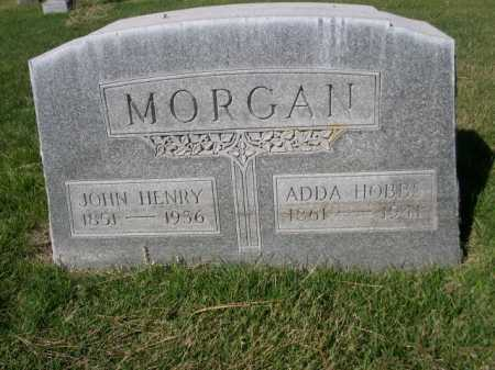 MORGAN, ADDA HOBBS - Dawes County, Nebraska | ADDA HOBBS MORGAN - Nebraska Gravestone Photos