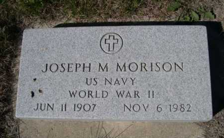 MORISON, JOSEPH M. - Dawes County, Nebraska | JOSEPH M. MORISON - Nebraska Gravestone Photos