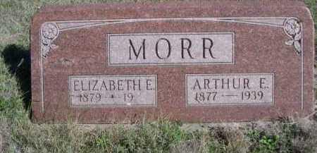MORR, ELIZABETH E. - Dawes County, Nebraska | ELIZABETH E. MORR - Nebraska Gravestone Photos