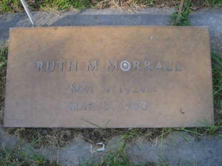 MORRALL, RUTH M. - Dawes County, Nebraska | RUTH M. MORRALL - Nebraska Gravestone Photos