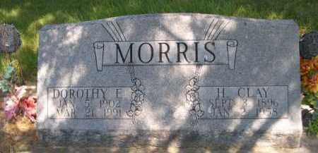 MORRIS, H. CLAY - Dawes County, Nebraska | H. CLAY MORRIS - Nebraska Gravestone Photos