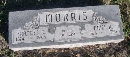 MORRIS, FRANCES D. - Dawes County, Nebraska | FRANCES D. MORRIS - Nebraska Gravestone Photos