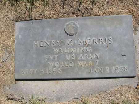 MORRIS, HENRY C. - Dawes County, Nebraska   HENRY C. MORRIS - Nebraska Gravestone Photos