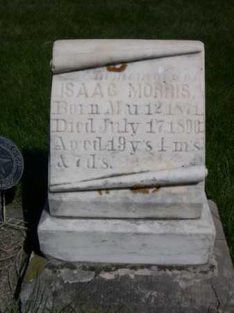 MORRIS, ISAAC - Dawes County, Nebraska   ISAAC MORRIS - Nebraska Gravestone Photos