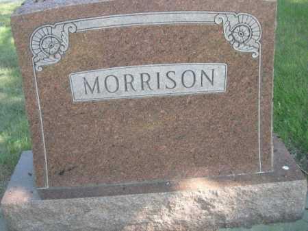 MORRISON, FAMILY - Dawes County, Nebraska | FAMILY MORRISON - Nebraska Gravestone Photos