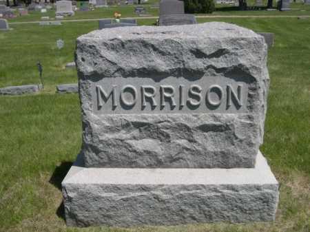 MORRISON, FAMILY - Dawes County, Nebraska   FAMILY MORRISON - Nebraska Gravestone Photos
